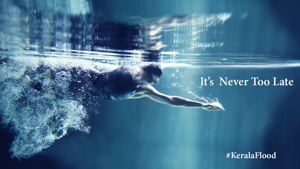 It's Never Too Late: Learn Swimming!